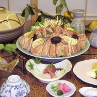 蟹好きコース コース内容: 先付・お造り・蟹フライ・鍋・雑炊・デザート